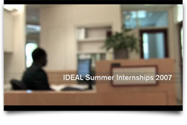 IDEAL Internships Video