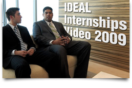 IDEAL Internships Video Update